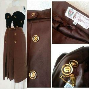 Vintage GUCCI wool skirt